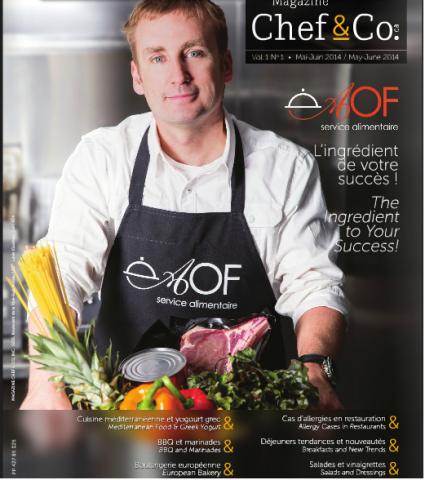 Crustacés et mollusques: Vive l'été! (Magazine Chef & Co.) Maison BeauSoleil